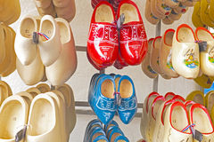 Wooden clogs in Amsterdam Netherlands Stock Images