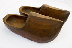 Wooden clogs Royalty Free Stock Photos