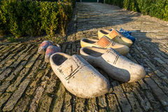 Wooden clogs Royalty Free Stock Photo