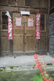 downfall Chinese folk house Royalty Free Stock Photography