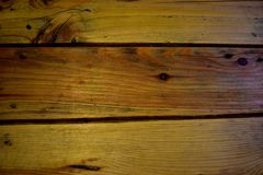 Wooden. Close up top views made of wooden brown planks Stock Photo