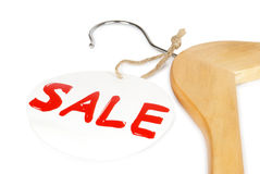 Wooden coat Royalty Free Stock Photo