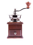Wooden coffee grinder Royalty Free Stock Photos