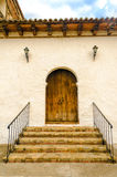 Wooden Colonial Style Door Royalty Free Stock Images