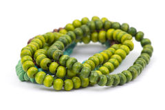Wooden color beads Stock Image
