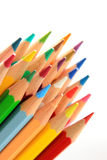Wooden color pencil Royalty Free Stock Image