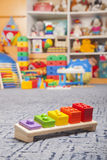 Wooden color toy Stock Photography
