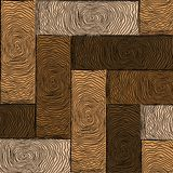 Wooden colored parquet Stock Photography