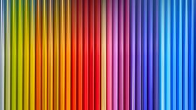 Wooden colored pencils with motion blur effect. Close view royalty free stock photos