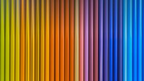 Wooden colored pencils with motion blur effect. Close view royalty free stock images