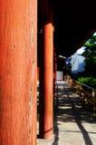 Wooden columns, Todaiji Royalty Free Stock Photos