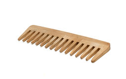 Wooden comb Stock Photo