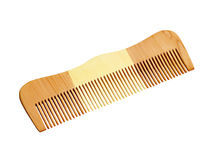 Wooden comb for hair Stock Image