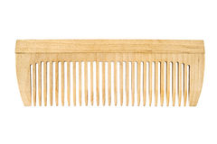 Wooden comb Royalty Free Stock Image