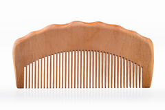 Wooden comb Royalty Free Stock Photos