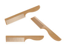 Wooden combs Royalty Free Stock Photography