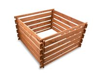 Wooden compost Royalty Free Stock Image
