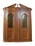 Wooden Confessional. Stock Images