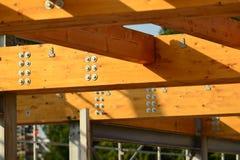 Wooden construction Stock Photos