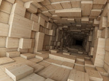 Wooden construction Stock Image