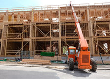 Wooden construction Stock Images