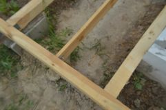 Wooden construction and units. Wooden construction and the units stock image