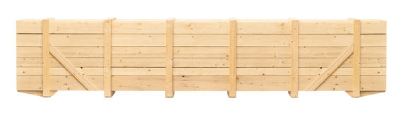 Wooden container Royalty Free Stock Photos