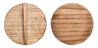 wooden cooking pot lid Stock Image