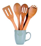 Wooden Cooking Utensils Royalty Free Stock Image