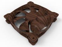 Wooden cooler - ventilator Royalty Free Stock Photos