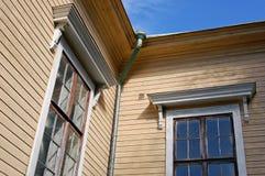 Wooden corner Stock Photos