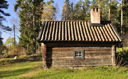 Wooden cottage Royalty Free Stock Photos