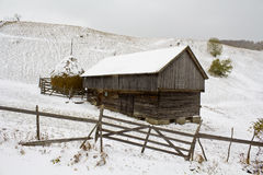 Wooden cottage Stock Image
