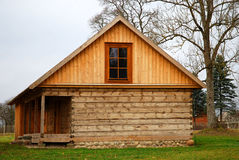 Wooden cottage stock photography