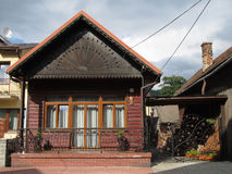 Wooden cottage Royalty Free Stock Images