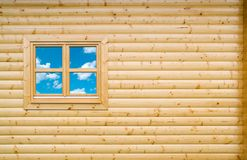 Wooden Cottage Wall Stock Photography