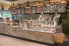 Free Wooden Counter Is At The Coffee Shop Royalty Free Stock Photography - 91789907
