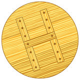 Wooden cover Royalty Free Stock Images