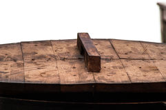 Wooden cover pan Stock Photography
