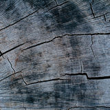 Wooden cracked black vintage background. Royalty Free Stock Photos
