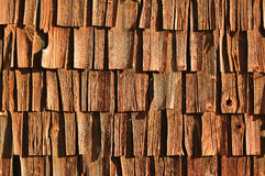 Wooden cracked wall Royalty Free Stock Images