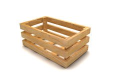 Wooden crate Stock Image