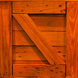 Wooden crate background Stock Images