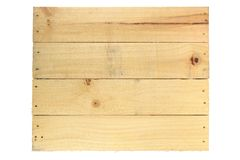 Wooden Crate Stock Photo