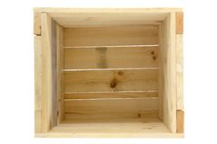 Wooden Crate Stock Photos