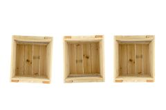 Wooden Crate Royalty Free Stock Images