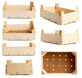 Wooden crate Stock Photography