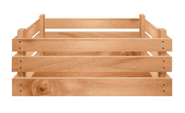 Wooden Crate Isolated Stock Images