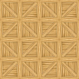 Wooden Crates Pattern. A wooden crate illustration that tiles seamlessly as a pattern royalty free illustration