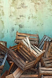 Wooden crates Stock Photography